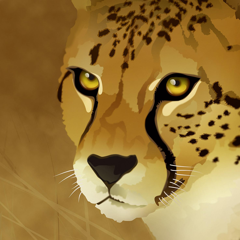 Gepard-ausschnitt